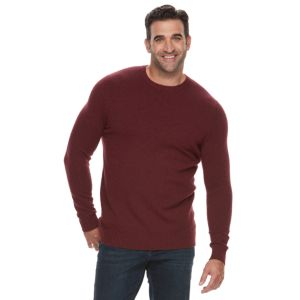Big & Tall Croft & Barrow® True Comfort Stretch Crewneck Sweater